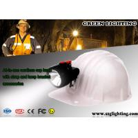 Quality 96 Lum Rechargeable LED Mining Light 128g Light Weight 3500 LUX Brightness for sale