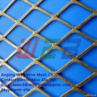 Buy cheap Stainless steel expanded metal mesh sheet(Anping Factory) from wholesalers