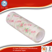 Wholesale Long Lasting BOPP Stationery Tape , 12mm Coloured Packaging Tape from china suppliers