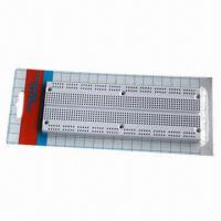 Wholesale 840-point Solderless Breadboard, Self-Adhesive, White Board  from china suppliers