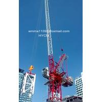 Wholesale 8tonnes 165ft Luffing Jib Tower Crane 50m Working Arm Full VFD Control from china suppliers