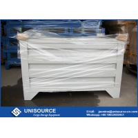 Wholesale Material Handling Metal Pallet Boxes With Wheels , Stackable Pallet Cages Turnover Box from china suppliers