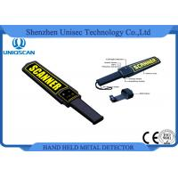 Wholesale MD3003B1 Super Scanner Handheld Metal Detector Certificated with CE / ISO Pakistan from china suppliers