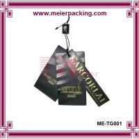Wholesale Custom paper garment hangtag/Clothing price tag ME-TG001 from china suppliers
