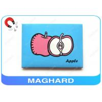 Wholesale Apple Printing Iron Fridge Magnet Pictures 94 X 70 X 3mm Custom Made from china suppliers