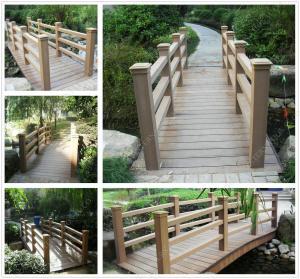 Quality WPC wood fence OLDA-9002 1.05m*1.65m,Wood plastic composites fencing for sale