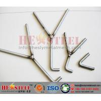 "Wholesale Y shape round bar weld anchors,  ""Y"" shaped Anchors, ""V"" shape anchors from china suppliers"