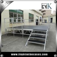 Wholesale Aluminum modular concert stage ,event stage , non-slip portable stage for sale from china suppliers
