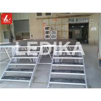 Wholesale With Stair Disassembly Aluminum Staging Platform Performance Plywood 750kg / M2 from china suppliers