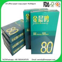 Wholesale A4 Copier Paper Indonesia 80 gsm/75 gsm/70 gsm Copier Papers from china suppliers