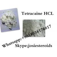 Wholesale Efficient Local Anesthetics Raw Powder Tetracaine HCL For Pain Reliever CAS 136-47-0 from china suppliers