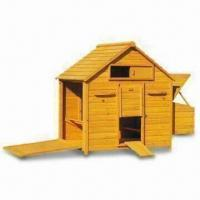 Wholesale Chicken Coops/Hen House with Two Nesting Boxes and Lockable Entrance Door Ramp from china suppliers
