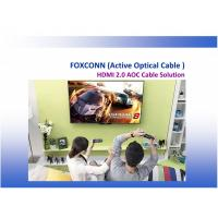Quality FOXCONN FIT HDMI 2.0 Active Optical Cable CUJA05A-ZZ205-EF ,HDMI AOC, 5 Meter for sale