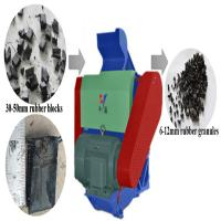 Wholesale Eco-friendly automatic waste rubber secondary crusher waste tire crusher from china suppliers
