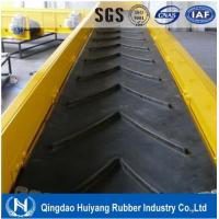 Wholesale Low abrasion high tensile strength Heavy Duty Patterned Chevron Conveyor Belt from china suppliers