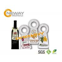 Wholesale Printed Coated Paper Garment Wine Bottle Hang Tags Full Color from china suppliers
