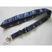 Wholesale Exhibition Gifts Imprint Satin Ribbon Overlay Polyester Lanyard from china suppliers