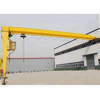 Wholesale Industrial Single Girder Semi Gantry Crane Rail Mounted For Workshop from china suppliers