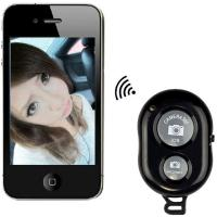 Wholesale Mini Bluetooth Wireless Remote Control Camera Shutter Release Self Timer for iPhone /iPad from china suppliers