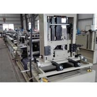 Quality PLC Control Steel Roll Forming Machine / CZ Purlin Roll Forming Machine for sale