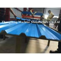Wholesale IDT Rolling PANELS Roofing Sheet Roll Forming Machine 7.5kw Hydraulic Control from china suppliers