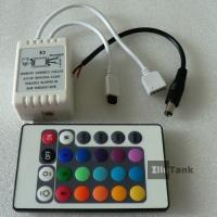 24key remote IR LED RGB controller for LED strip in DC12V