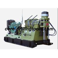 Quality 38KW 1800rpm Core Drilling Rig , Diamond Core Mobile Drill Rig Machine for sale