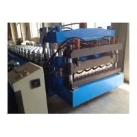Wholesale Glazed Tile Roll Forming Machine Color Coated Cold Steel Coil Roll Forming Equipment from china suppliers