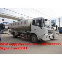 Wholesale 2018s high quality and best price Euro 5 Dongfeng tianjin 4*2 LHD 10tons-12tons animal feed delivery truck for sale from china suppliers