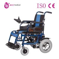 Wholesale OEM ODM Simple Lightweight Electric Wheelchair Foldable With 24V 20Ah Battery from china suppliers