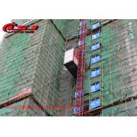 2000kg Capacity Double Cage Construction Hoist For Lifting Passenger And Materials