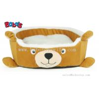Wholesale New Design Plush Cartoon Bear Shape Puppy Dog Cat Bed Pet Bed from china suppliers