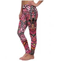 Wholesale Originals Butterfly Colorful Hot Yoga Clothes  , Custom Full Sublimated Leggings from china suppliers