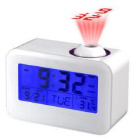 Wholesale touch sensor alarm projection clock with LED /temperature,calender,timer from china suppliers