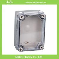Wholesale 110*80*45mm ip66 water proof plastic box plastic clear enclosure from china suppliers