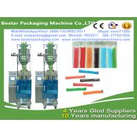 Wholesale Bestar packaging machine manufacturing Ice pop filling and packaging,ice lollipop sachet packing machine from china suppliers