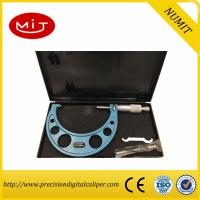 Wholesale Adjust Digital Outside Micrometer 75-100mm with Interchangeable Anvils for Carbide measuring face and painted frame from china suppliers