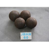 Wholesale Hot Rolling Steel Balls B2 D60MM High Hardness 60HRC Steel Ball for Mine Dressing Plant from china suppliers