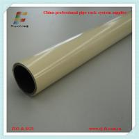 Wholesale coated pipe for lean pipe rack system in china from china suppliers