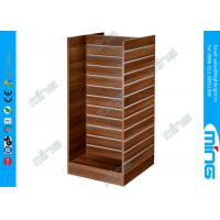 Wholesale H Shape MDF Slatwall Display Shelves with 16 Square Feet for Shoes Store from china suppliers