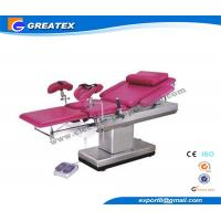 Wholesale Manual Gynecologist Obstetric Table for Examination and Treatment with cushion , Clamp from china suppliers