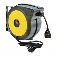 Wholesale Impact Resistant Polypropylene 15m / 20m Electric Cable Reel Black / Yellow from china suppliers