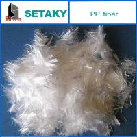 Quality polypropylene fiber for making construction commixture filling for sale