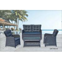 Wholesale Aluminium Frame Garden Rattan Sofa Set With Cushion Waterproof 4 Piece from china suppliers