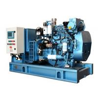 Wholesale 1500 RPM Diesel Generator Closed Cooling , Industrial Power Generators With Fuel Tank Base from china suppliers