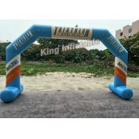 Wholesale Inflatable Airtight Advertising Arch , Custom Inflatable Arch With PVC Tarpauline Material from china suppliers