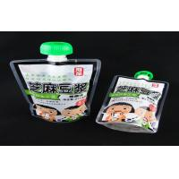 Wholesale 10L 5l 3l drinking water plastic pouch with spout , mineral / soymilk liquid packaging bags from china suppliers