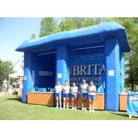 Wholesale Blue Brita Inflatable Booth For Display , Advertising Inflatables Display Booth from china suppliers