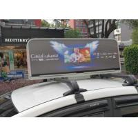 Quality 1R1G1B digital Taxi Top Led Display , taxi led screen MBI5020 IC driver for sale