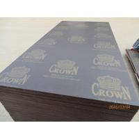 Quality CROWN' BRAND FILM FACED PLYWOOD, COMBI CORE, WBP MELAMIME GLUE, BROWN PRINTED FILM for sale